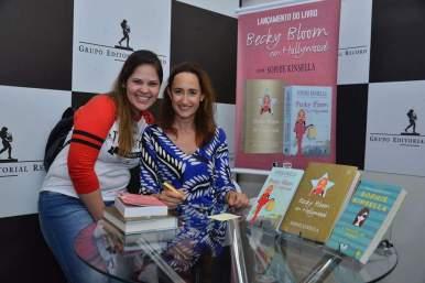 Fernanda e Sophie Kinsella