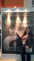 Publicidade do livro Obsidian, da Valentina